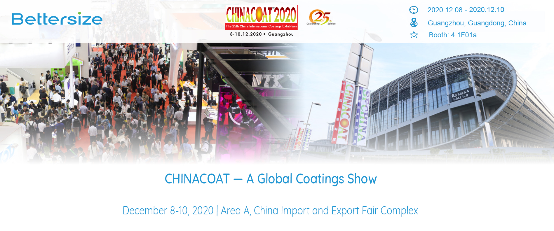 CHINACOAT 2020 on Dec 8-10, 2020